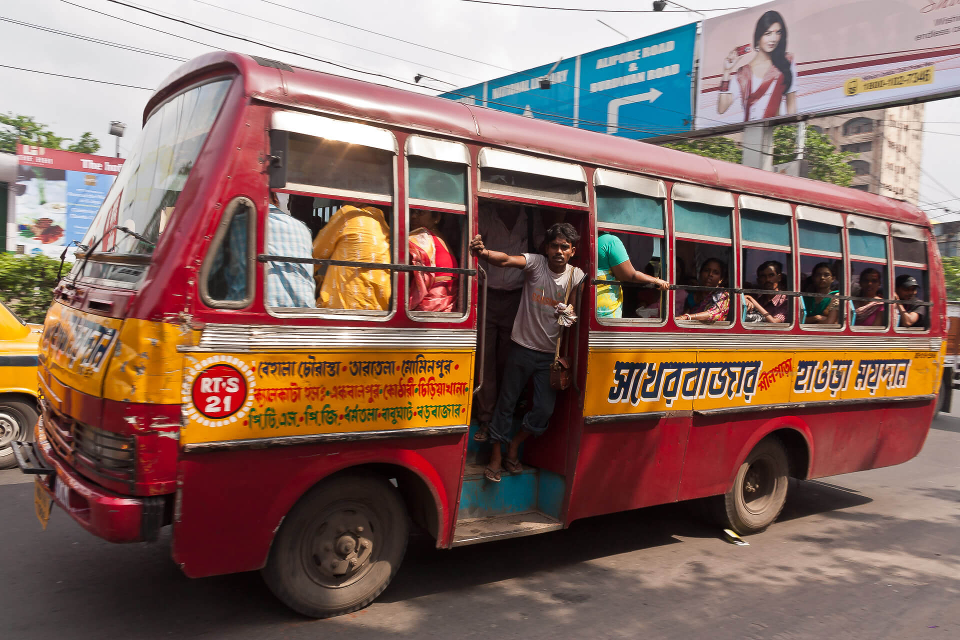 Bus I | Streetfotografie in Kalkutta