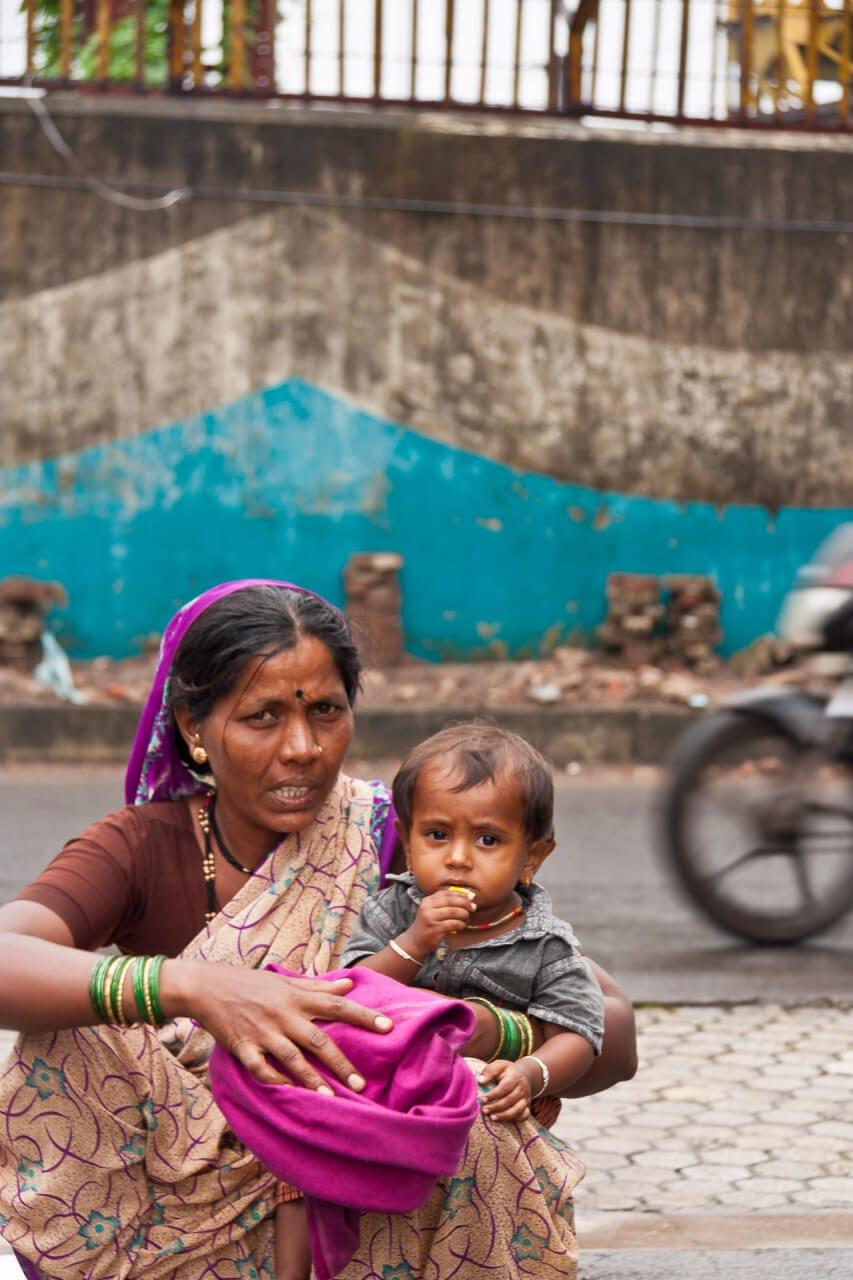 Streetfotografie: Mother and Child