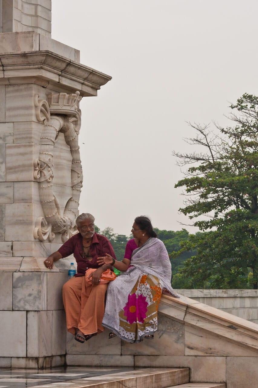 Victoria Memorial Hall II | Streetfotografie in Kalkutta