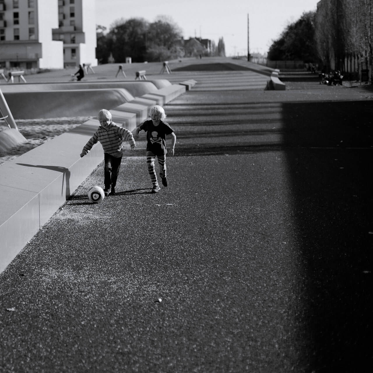 Christian Weber Streetfotografie München Soccer Kids
